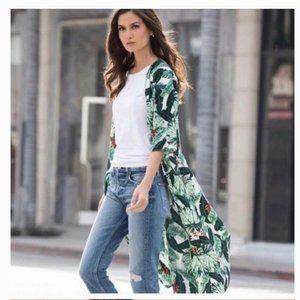NWT Rachel Zoe Tropical Kimono